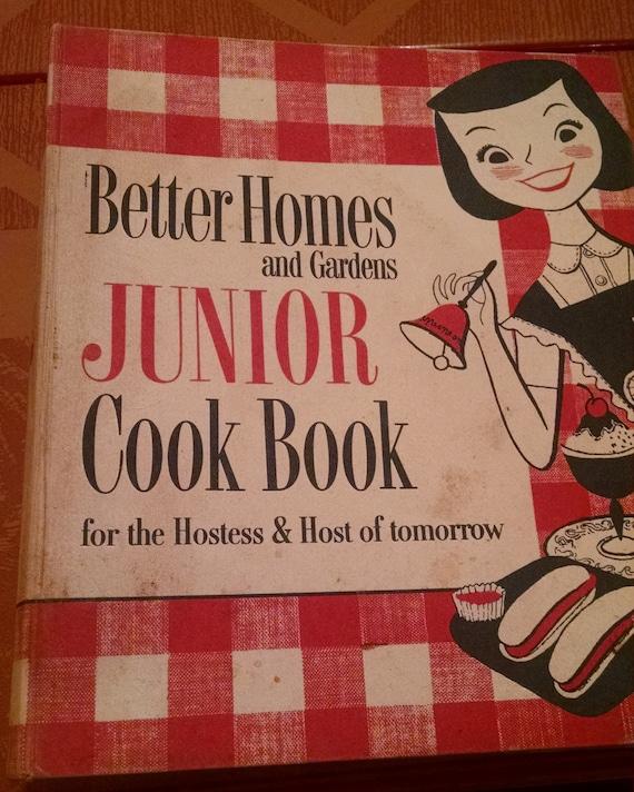 Better Homes And Gardens Bhg Jr Junior Cook Book 1955 First