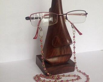 Glasses Holder NECKLACE. Handmade Glasses Holder Necklace. Necklace For Eyeglasses.