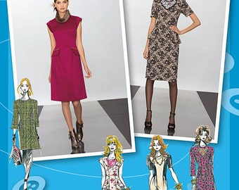 Simplicity 2282 Project Runway Dress Pattern sizes 4-12
