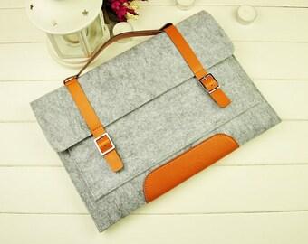 Felt 12 inch Macbook sleeve, New Macbook 12 case, Macbook 12 sleeve, macbook sleeve, macbook air case, laptop sleeve, laptop case