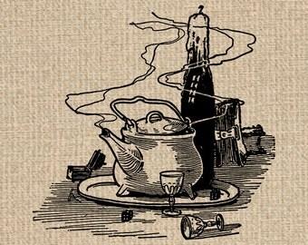 Printable Teapot Images Teapot Graphics Teapot Print Teapot Illustration Teapot Clipart Digital Teapot 300dpi HQ