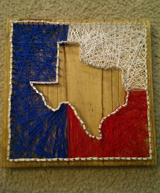 Texas rangers nails nail designs pinterest nail art haha texas texas string art etsy texas nail art prinsesfo Image collections