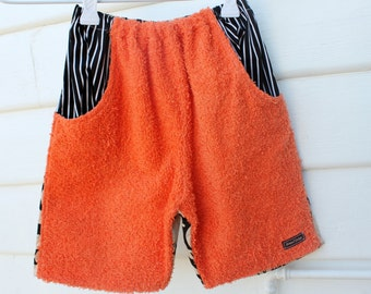 boys size 1, fits ages 1 year old, boho beach vintage chenille shorts