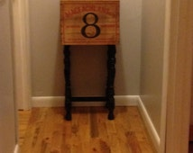 Whiskey Crate Table