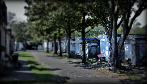 NEW ORLEANS CEMETERY Photography ~ Lafayette Cemetery #1 ~ New Orleans, Louisiana