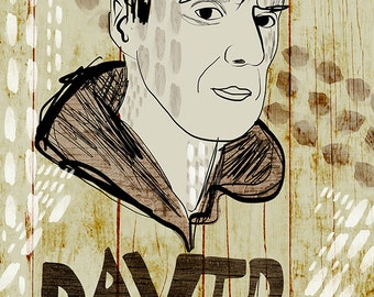 David Byrne Poster - Limited Edition of 100