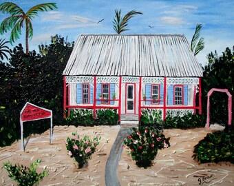 Original Artwork by Janice Brown, Cayman Islands