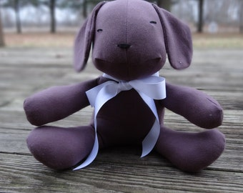 Organic Toy  - Dog - Stuffed Animal - Eco-Friendly Toy