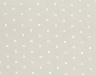 XOXO in Ghost - Cotton + Steel Basics - Japanese Import