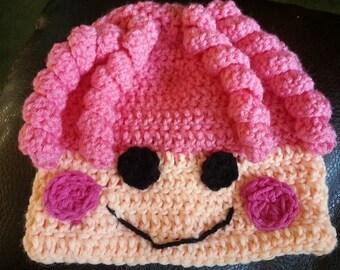 crochet la la loopsy hat