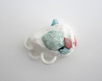 Balloon fish porcelain