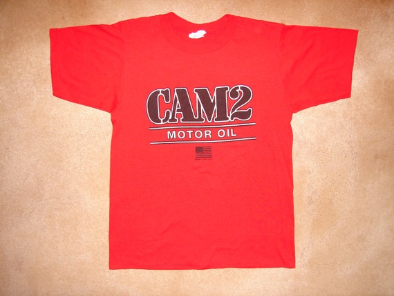 Vintage 1980 39 S Cam2 Motor Oil T Shirt By Fckingawesomevintage