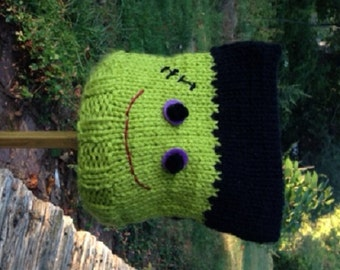 Newborn Frankenstein Halloween Hat