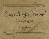 Consulting Criminal - Caramel Apple Lip Balm Inspired By Sherlock