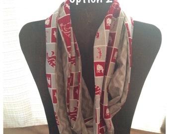 WSU Infinity scarf.