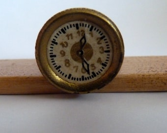 Vintage watch for 40s / living room living room clock f. dollhouse 1940s