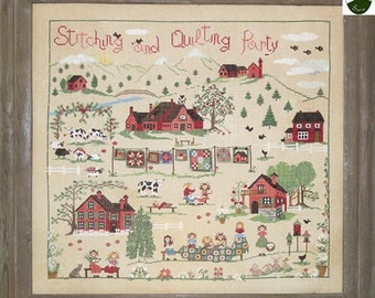 Stitching and Quilting Party