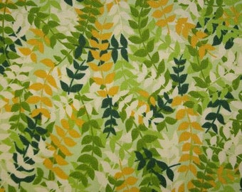Whitetail Valley - Green Ferns Fabric