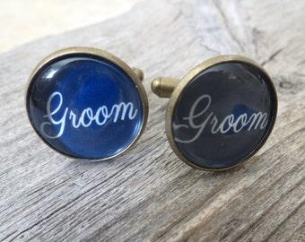 Groom Cufflinks - Cufflinks For Groom - Groom Jewelry - Groom Accessories - Gift For Groom - Wedding Accessories