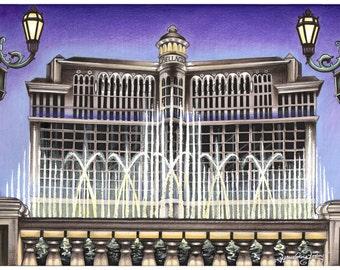 Bellagio Las Vegas Print