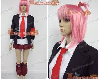 Shugo Chara Hinamori Amu Cosplay Costume Black