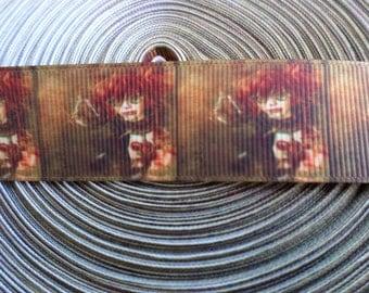 Steampunk Girl Grosgrain ribbon