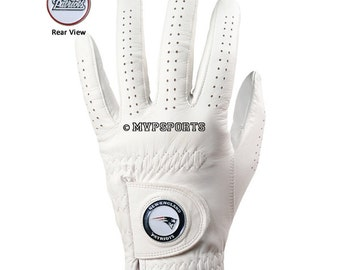 New England Patriots Golf Glove & Ball Marker