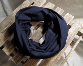 Mommy-and-Me Infinity Scarves. Navy Blue Infinity Scarf. Knit Infinity scarf. Fall Scarf. Winter Scarf. Emily's Scarf Shop