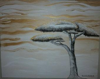 Golden Breeze - Original Painting by Raina Whittekiend 2014
