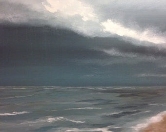"Stormy Sky original large landscape 30""x40"""