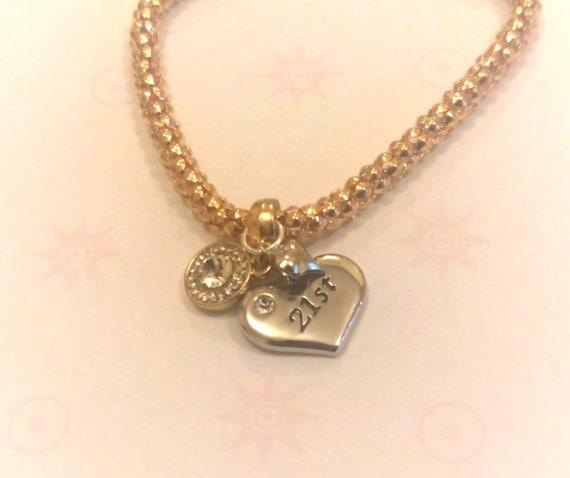 21st Birthday Gift 21st Birthday Jewelry 21st Birthday By
