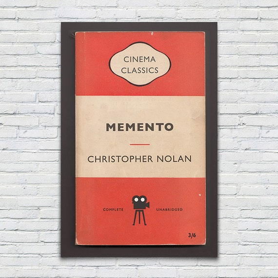 memento movie paper Complete summary of muriel spark's memento mori enotes plot summaries cover all the significant action of memento mori.