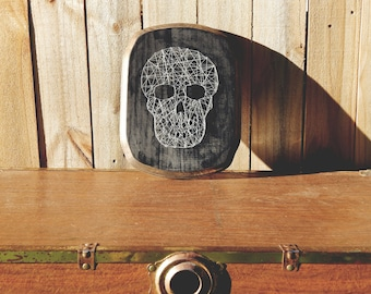 Skull Thread Art