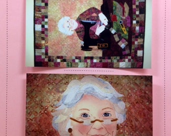 THE QUILTER Quilt Pattern by Seams Like Home (Joan Jones) applique pieced singer feather-lite