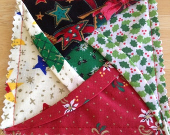 Christmas Coasters Cotton