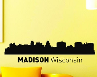 Popular Items For Wisconsin Skyline On Etsy