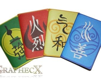 Fan-made Avatar The last Airbender inspired personalized journal notebook