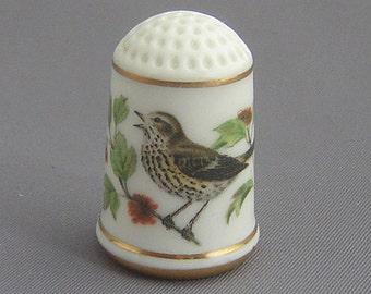 Franklin Thimble - Song Thrush (Garden Bird Series)