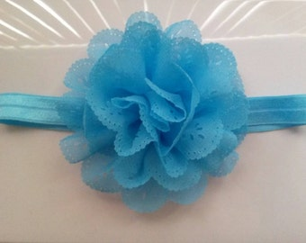 Baby eyelit flower headbands