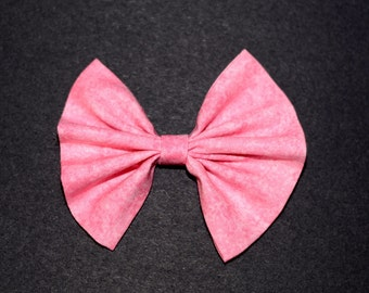 Dusty Pink Hair Bow