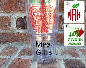 Custom Teacher Cups