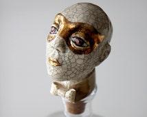 Ceramic Face Wine Buttle Stopper