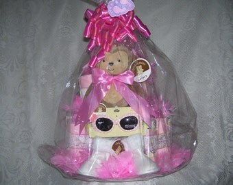 Little Diva Diaper Cake