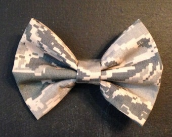 Air Force Hair Bow