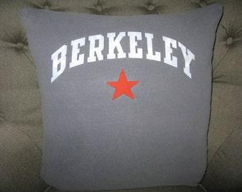 Berkeley T-Shirt Throw Pillow