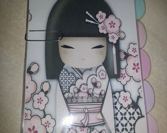 Personal Style dividers Kimmidoll 1! Customizable Pocket or A5
