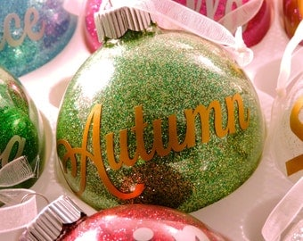 Customized Birthstone Ornament