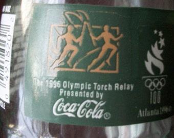 Vintage Collectors Coca-Cola 1996 OlymicTorch Relay Bottle