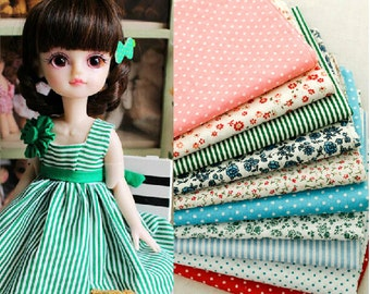 Manual DIY cotton fabric plain candy colored cloth group--Cotton cloth, bedding green cloth group,curtain cloth--1/2 yard