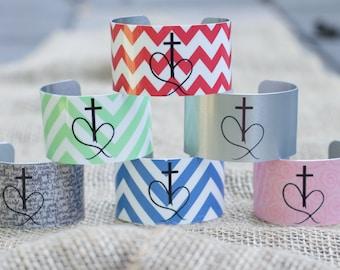Unending Love Christian Cuff Bracelet